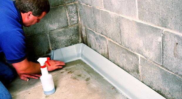 Basement Waterproofing Methods : Foundation waterproofing kenosha wi what to expect