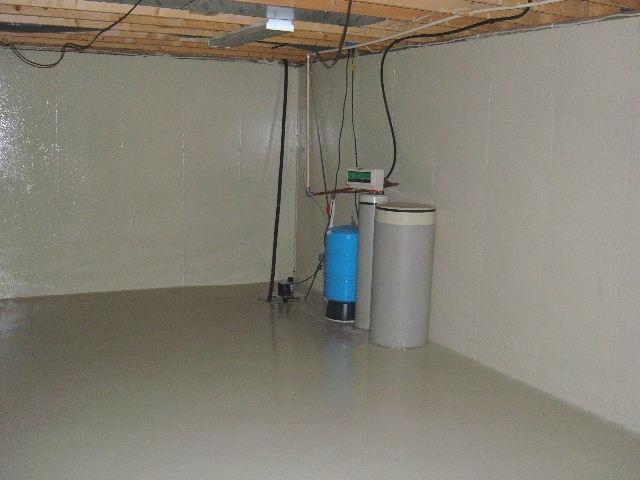Plug to Check Basement Sealing