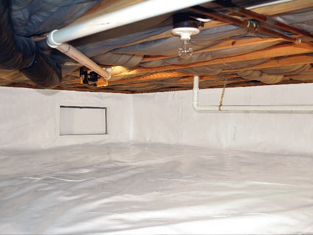 Crawl Space Encapsulation for Basement