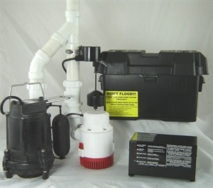 Battery Backup Sump Pump by Everdry Waterproofing
